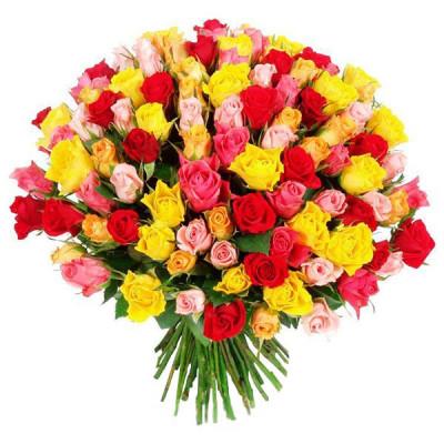 Розы - Кения 101 шт