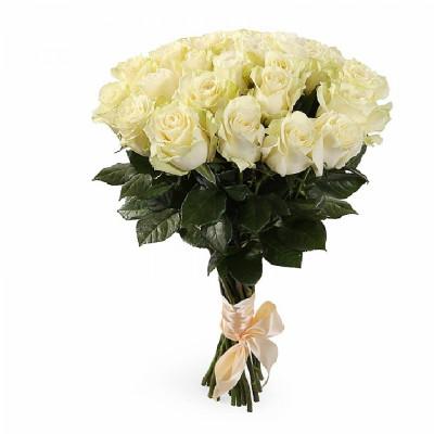 21 эквадорская  роза сорта Мондиаль 50 см